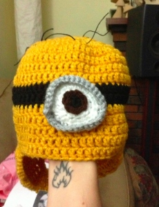 minion hat unfelted