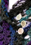 Spiral Mulberry Capelet