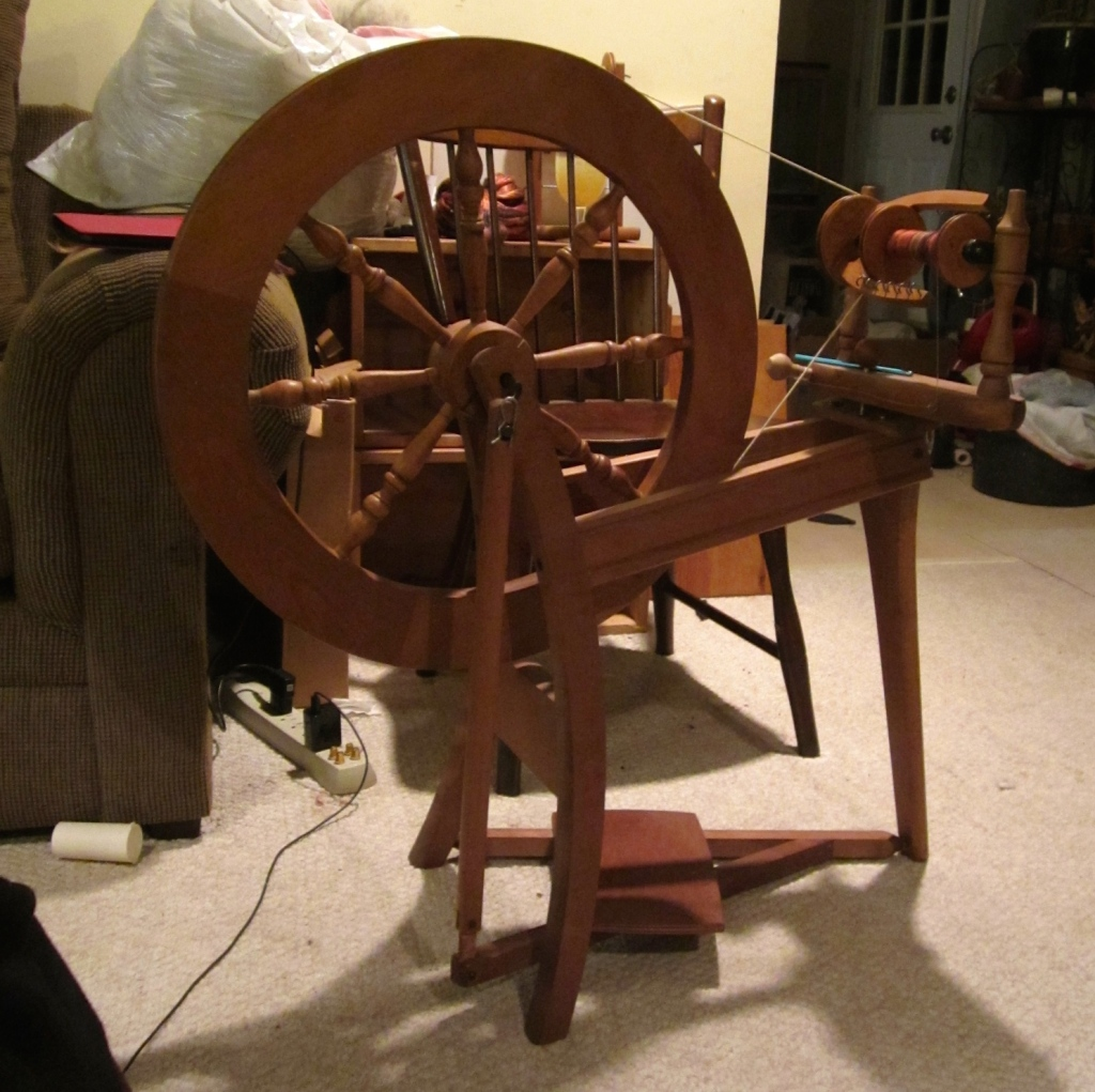Ashford Traditional Spinning Wheel from the early 1980s