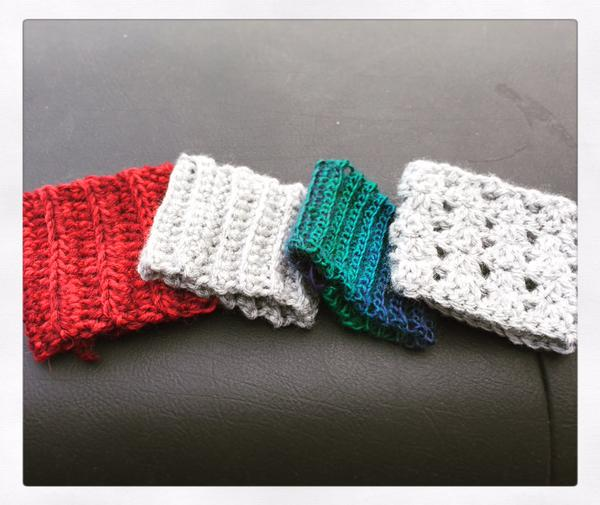 Cup cozies!  ...Or are they?