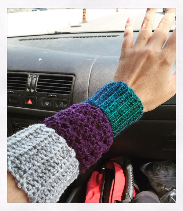 Cup cozy? Or...ARM cozy?