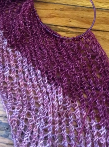 asymmetrical shawl