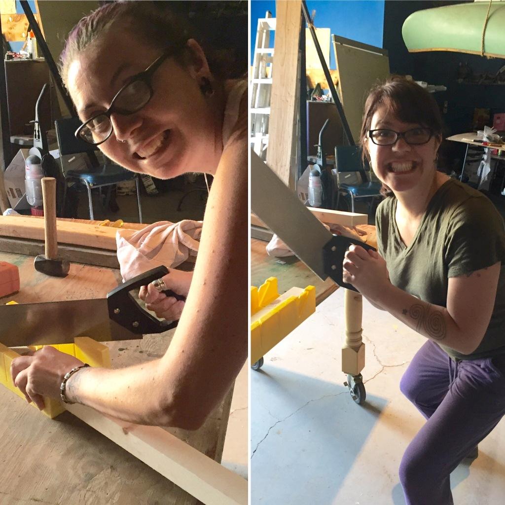 Sawing sawing sawing